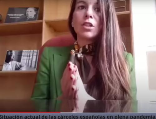 Cristina Morcillo y la situacion actual de funcionarios y presos en las cárceles Españolas